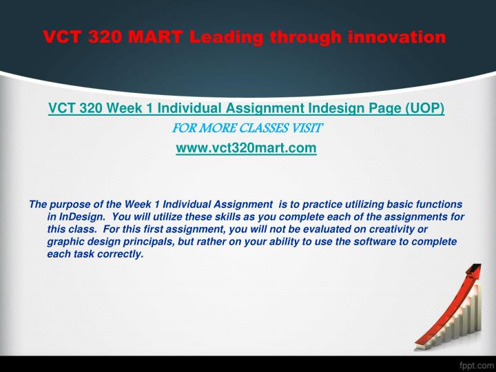 bmgt422 individual assignment 1 Full text of schedule of classes see other formats.
