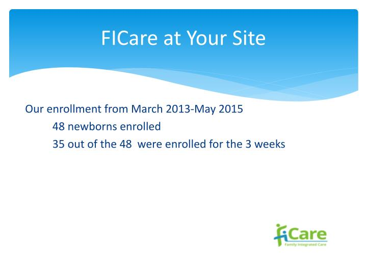 Ficare at your site