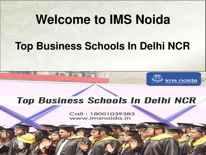 Welcome to ims noida
