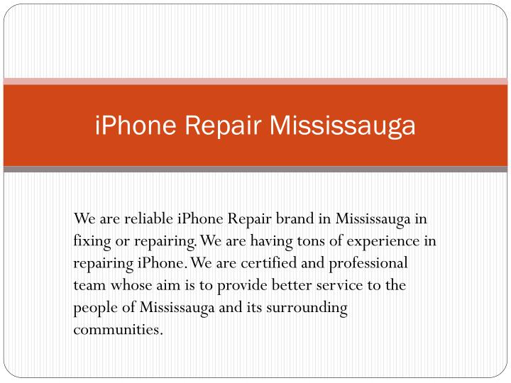 iphone repair mississauga n.