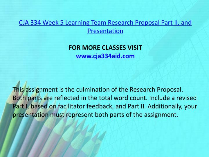 team research proposal