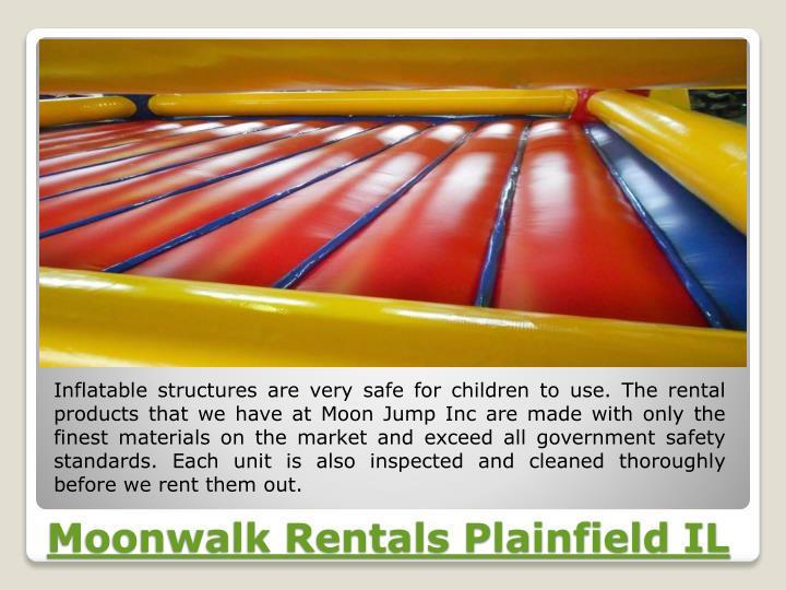 Moonwalk rentals plainfield il