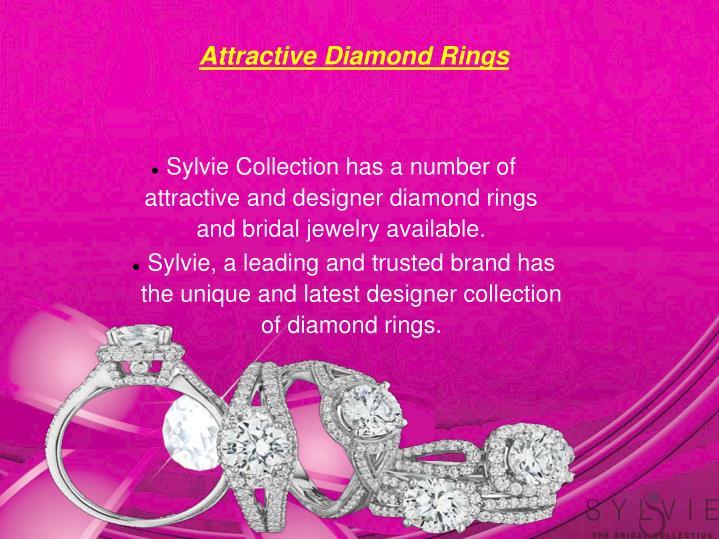 Attractive Diamond Rings