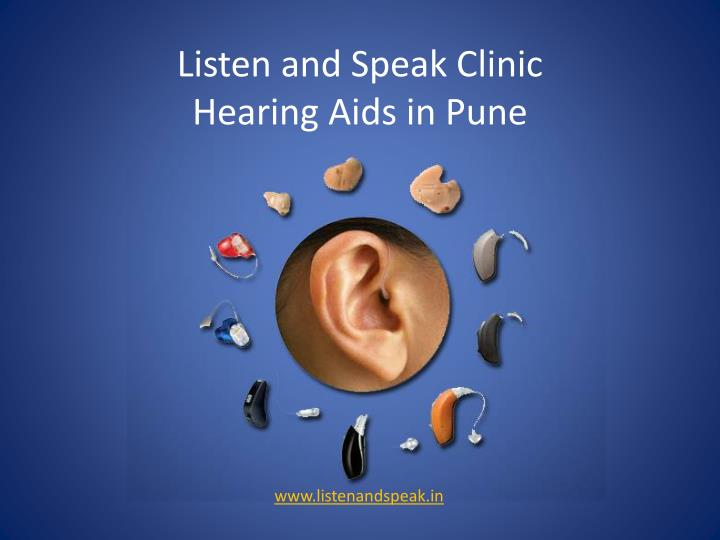 listen and speak clinic hearing aids in pune n.
