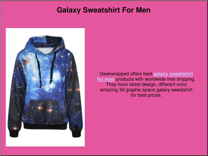 Galaxy Sweatshirt For Men