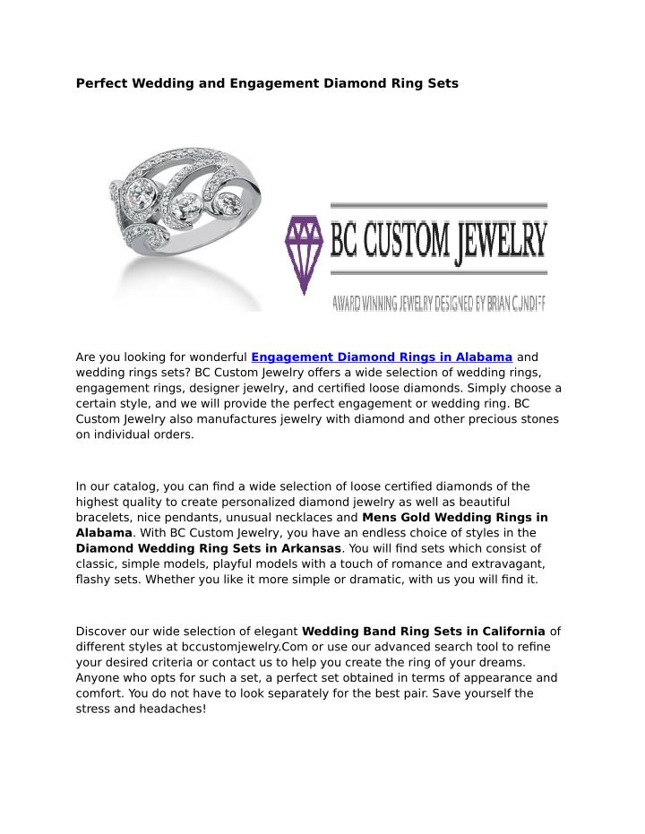Ppt Engagement Diamond Rings Alabama Powerpoint Presentation Free Download Id 7332183