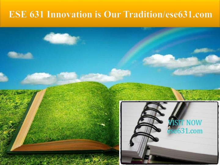 ese 631 innovation is our tradition ese631 com