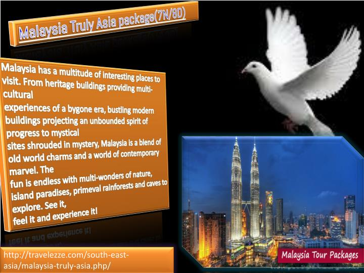 Malaysia Truly Asia package(7N/8D)