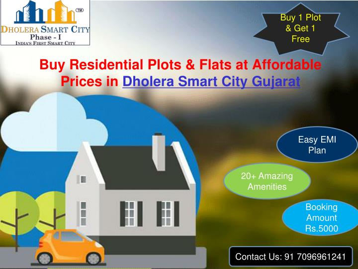 buy residential plots flats at affordable prices in dholera smart city gujarat n.