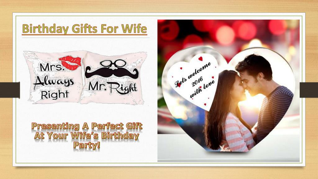 PPT - Birthday Gifts For Wife