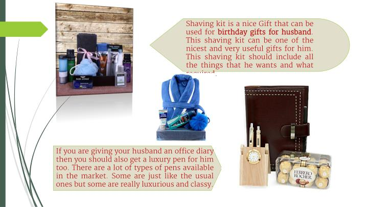 Shaving Kit Is A Nice Gift That Can Be Used For Birthday Gifts Husband