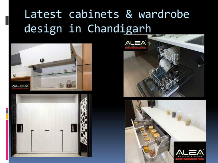 Latest cabinets & wardrobe design in Chandigarh