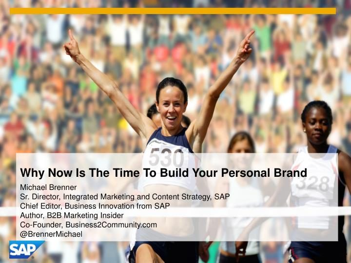 why now is the time to build your personal brand n.