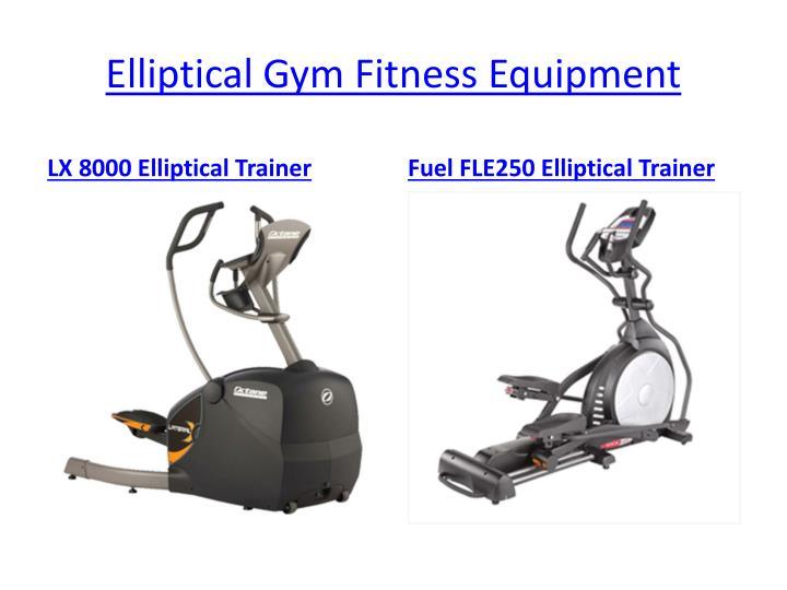 Elliptical Gym Fitness Equipment