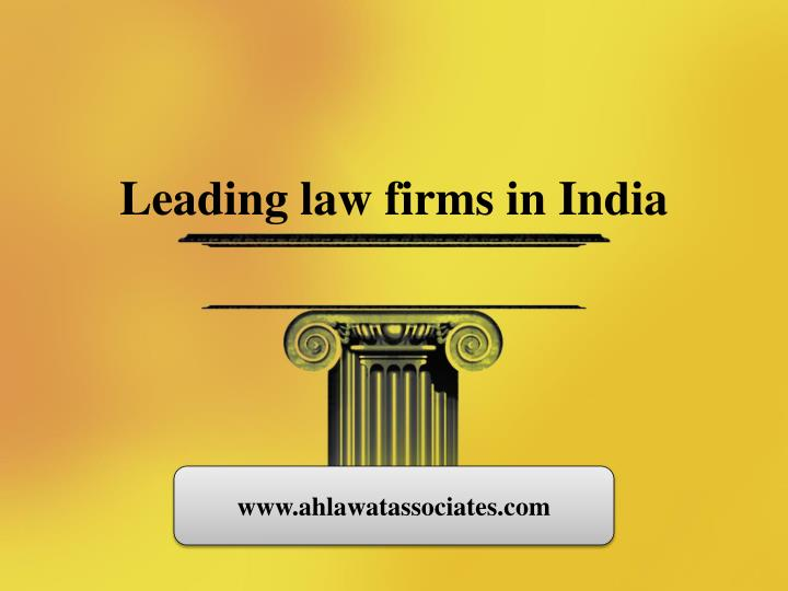 leading law firms in india n.