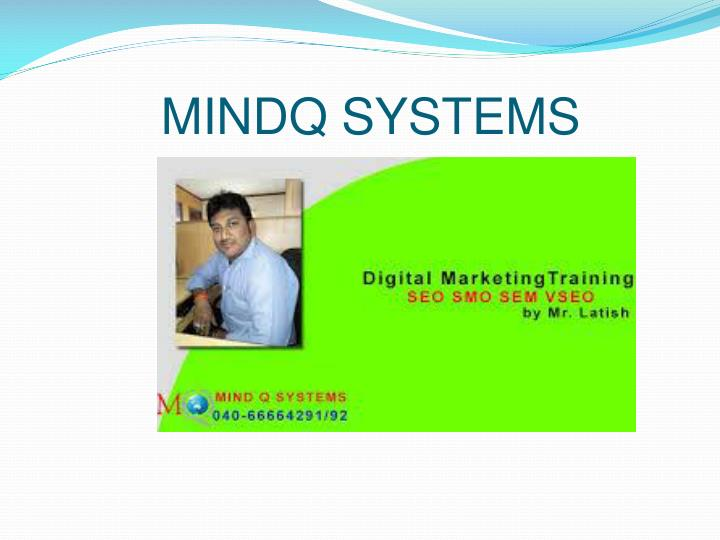 MINDQ SYSTEMS