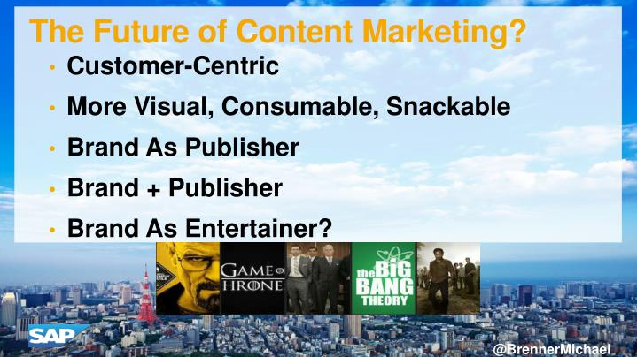 The Future of Content Marketing?
