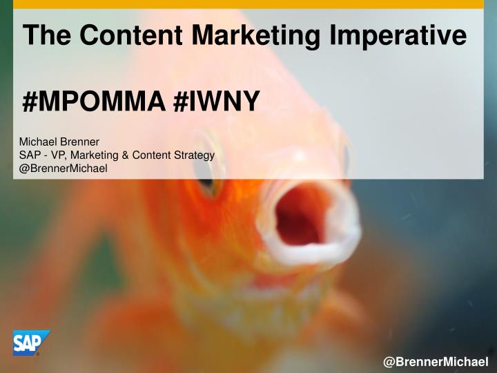 the content marketing imperative mpomma iwny n.
