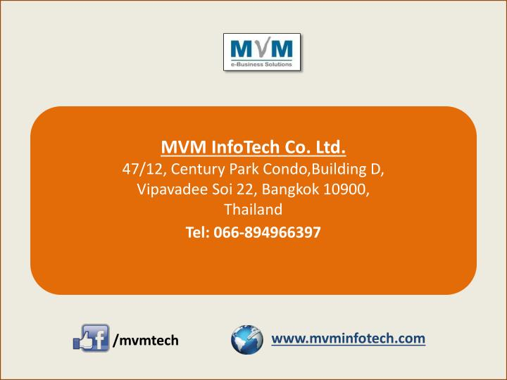 MVM InfoTech Co. Ltd.