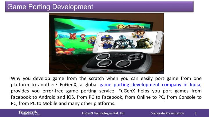 Game Porting Development