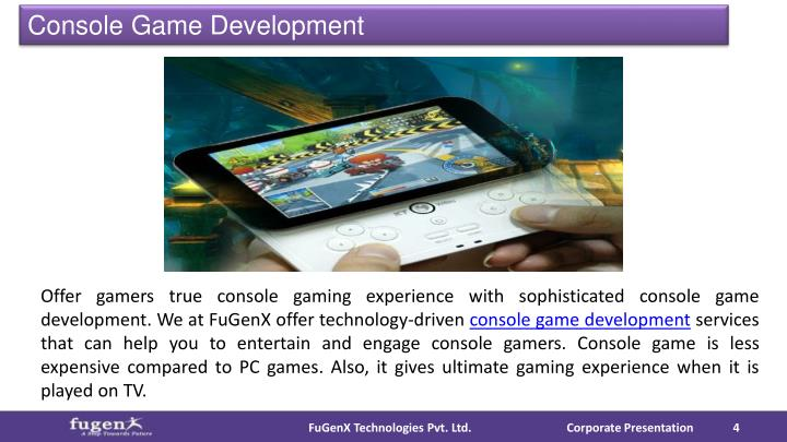 Console Game Development