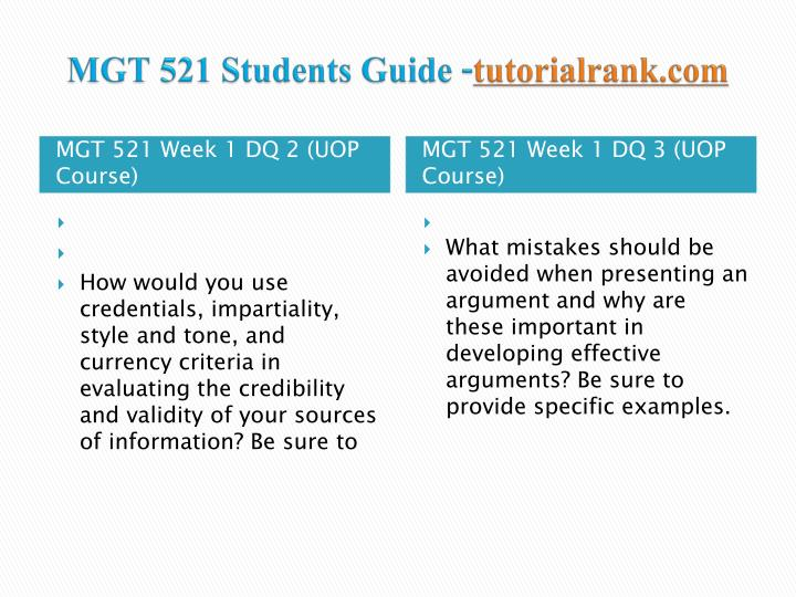 mgt 521 Find 100% verified mgt 521 week 6 final exam for university of phoenix students at assignmentehelpcom.