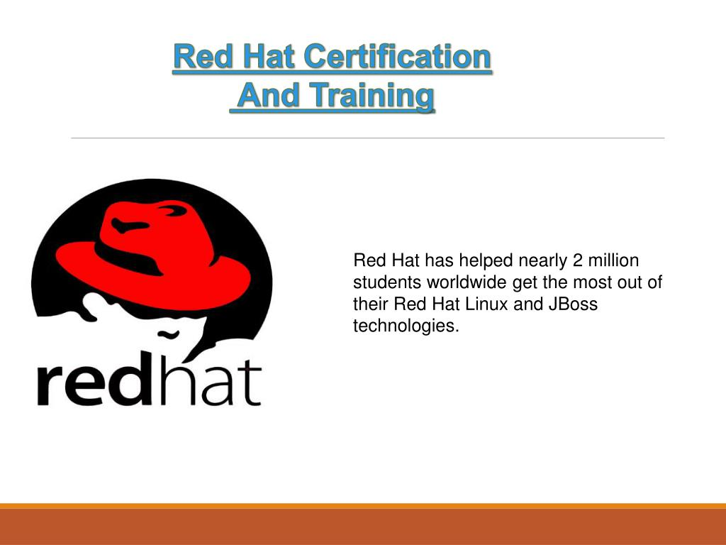 hat certification training ppt powerpoint presentation students