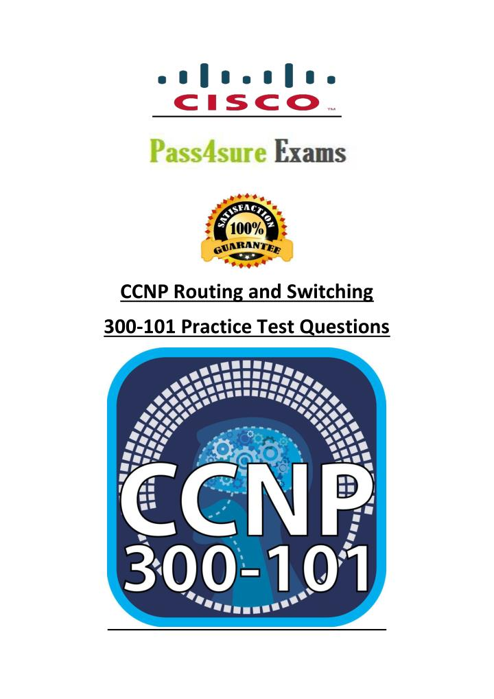 PPT - CCNP Routing and Switching Pass4sure 300-101 Dumps PowerPoint