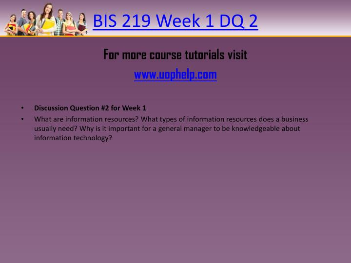 information resource management week 1