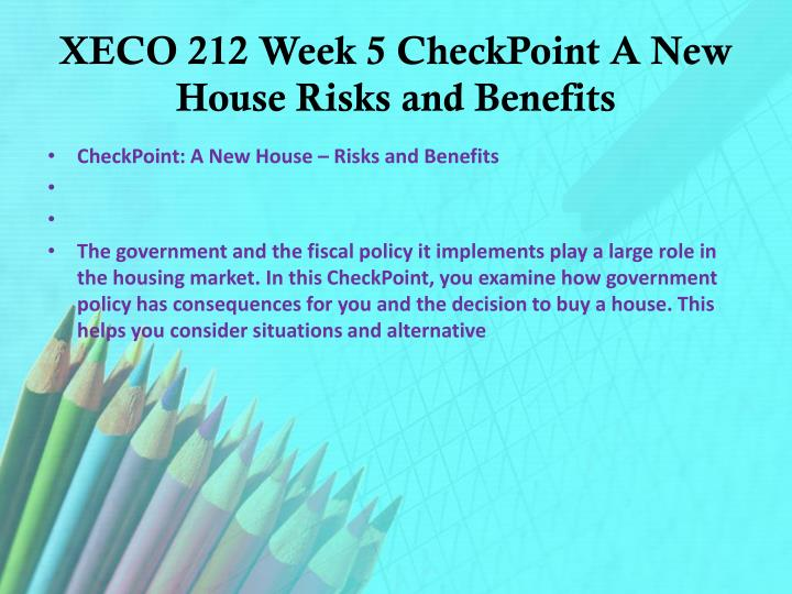 xeco 212 week 7 checkpoint Please leave this field blank xeco 212 entire course home updates wish list ask your question categories acc 210 acc 230 acc 260 acc 291 acc 300 acc 340.