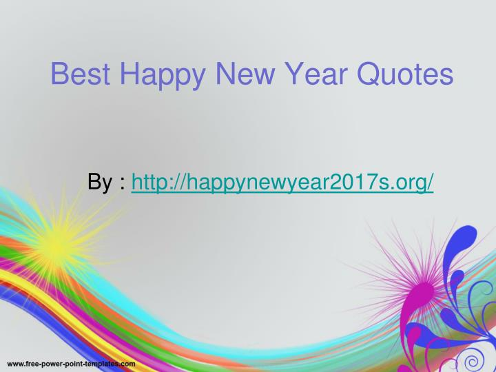 best happy new year quotes n.