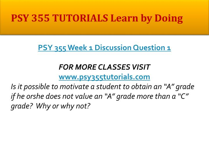 psy 355 week 4 Psy 355 sources of motivation paper essays and 355 week 2 dqsdoc psy-355 week 3 dqsdoc psy-355 week 4 dqsdoc psy-355 week-2-motivation-theories.