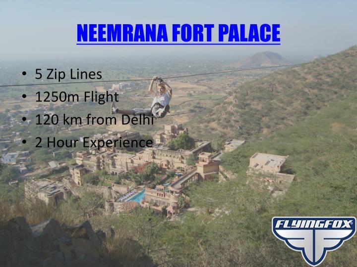 NEEMRANA FORT PALACE