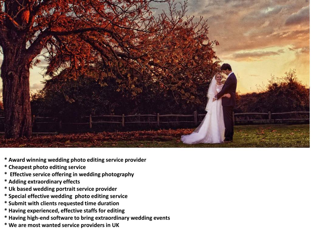 Ppt World Best Wedding Photography Outsourcing Service Provider In