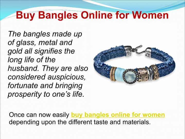 Buy Bangles Online for Women