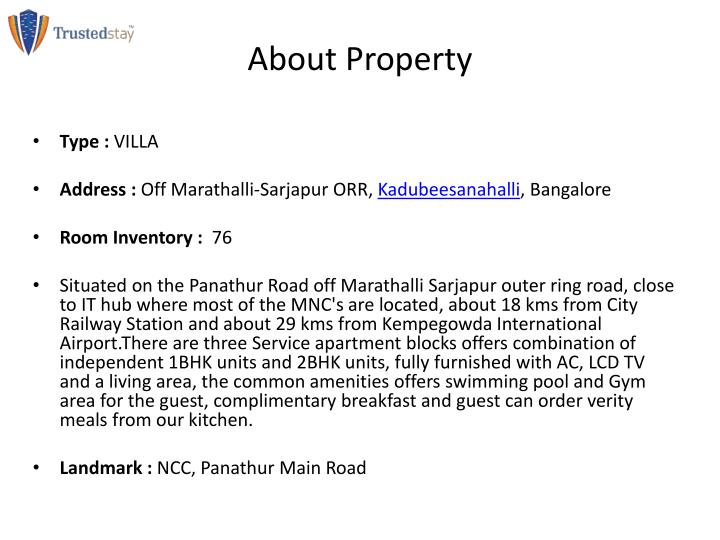 About Property
