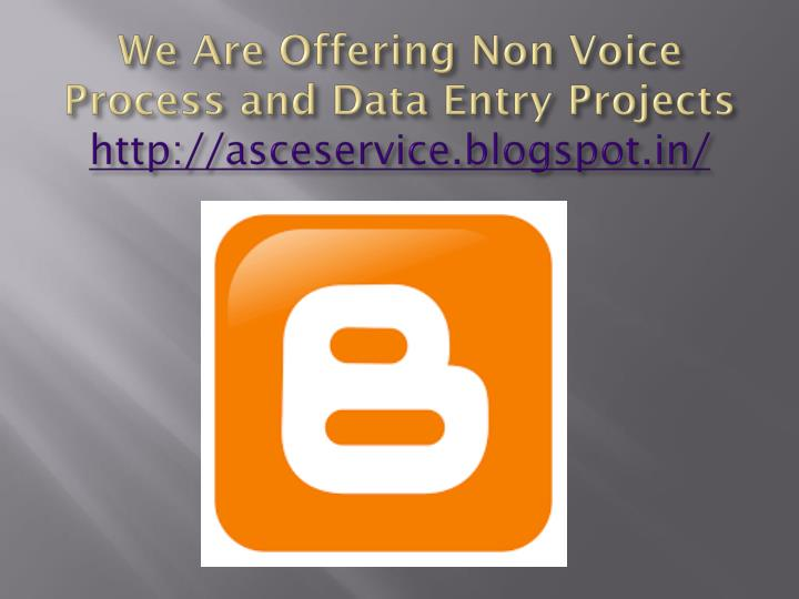 how to get non voice bpo projects