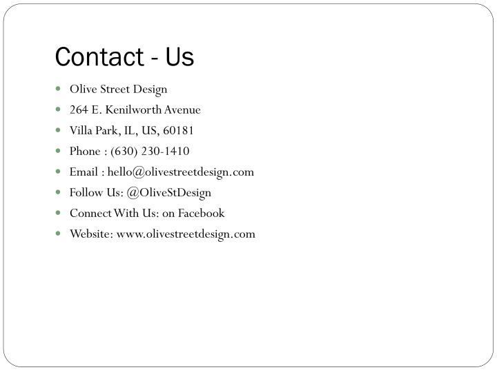 Contact - Us