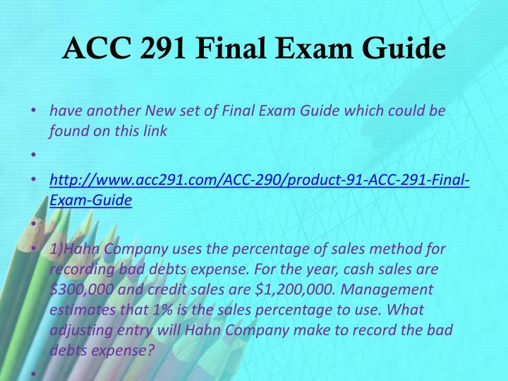 acc 516 final exam