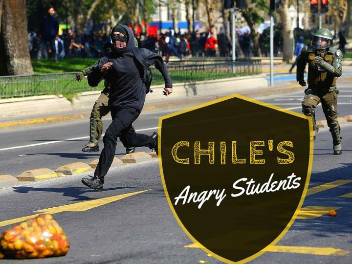 chile s irate students n.