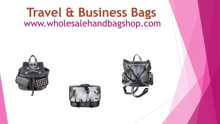 Travel & Business Bags