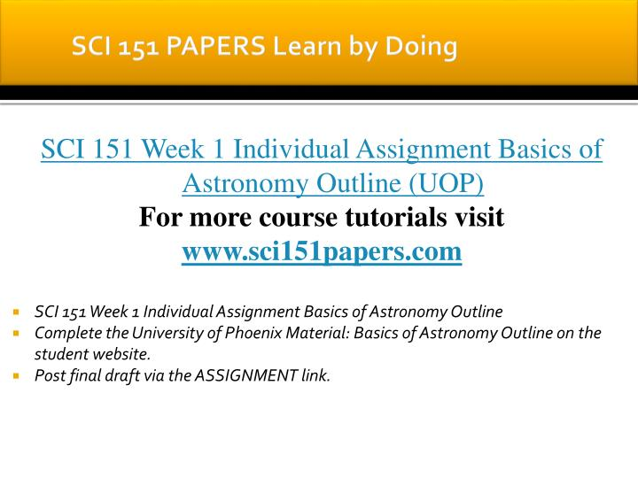 Sci 151 papers learn by doing1