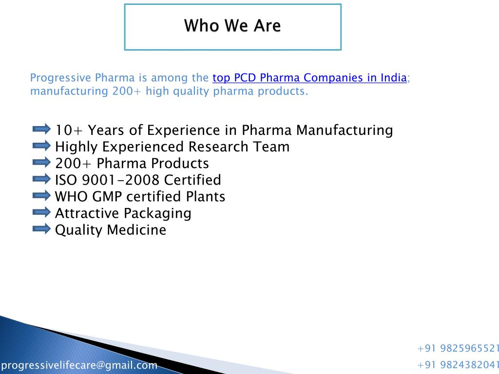 PPT - Top PCD Pharma Companies in India PowerPoint