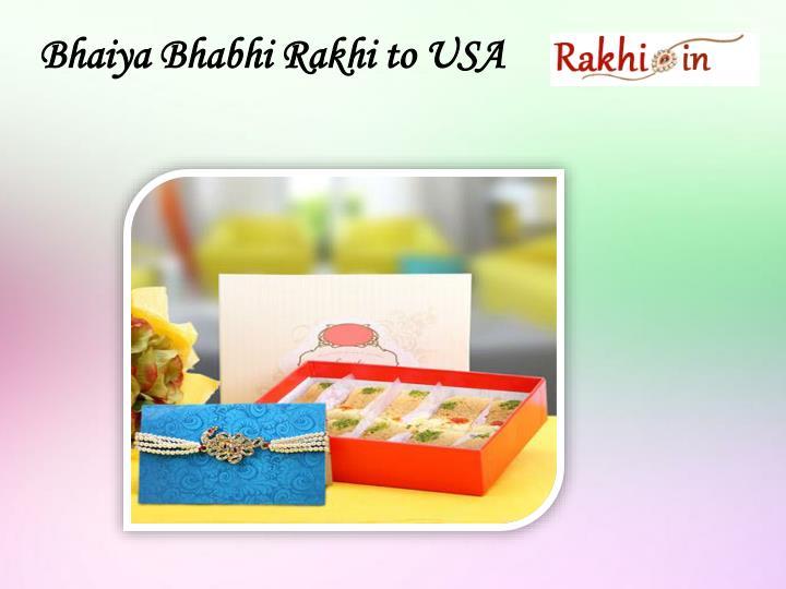 Bhaiya Bhabhi Rakhi to USA
