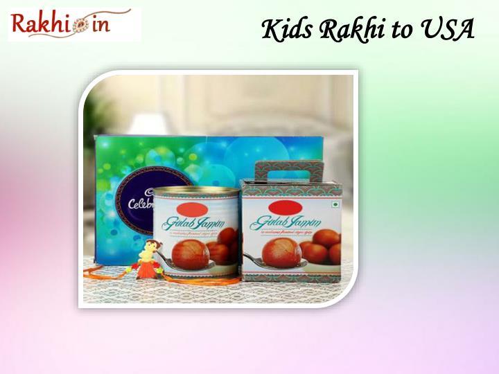 Kids rakhi to usa