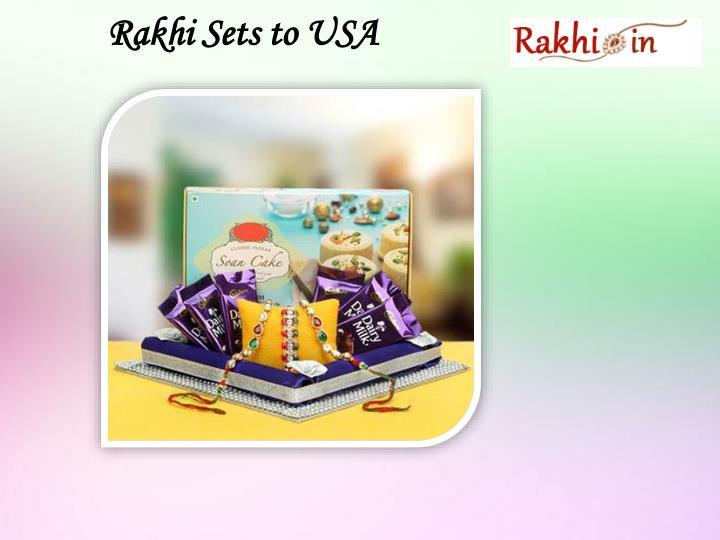 Rakhi Sets to USA