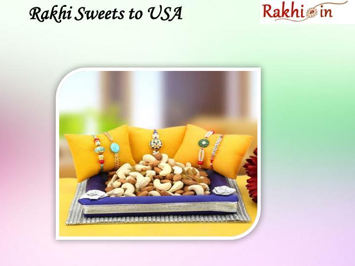 Rakhi Sweets to USA