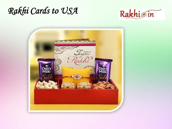 Rakhi Cards to USA
