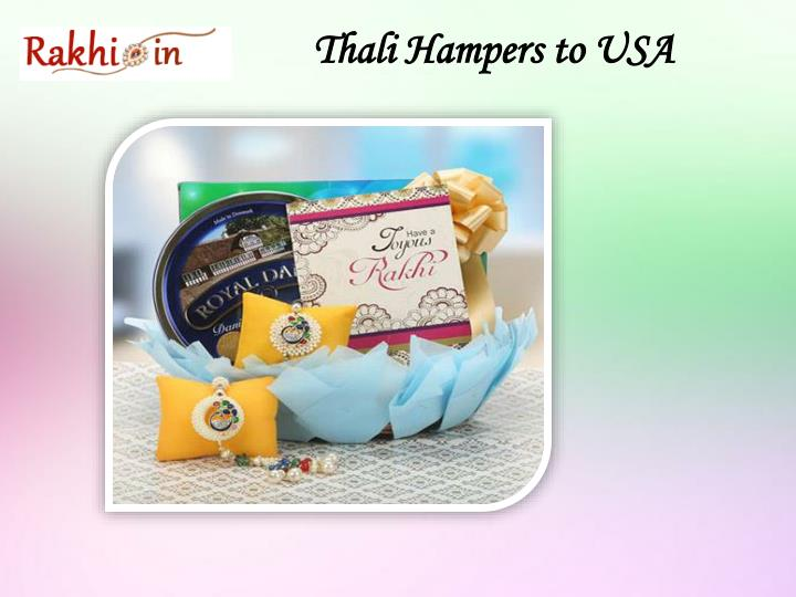 Thali Hampers to USA