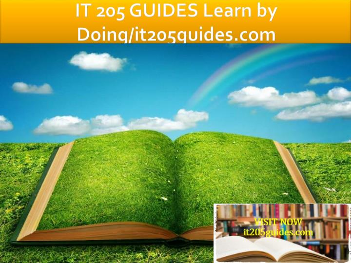 it 205 guides learn by doing it205guides com